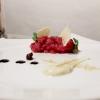Tartare di Podolica, maionese alla senape grezza, maggiorana, melassa di fichi e mousse di olive tostate