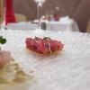 Tris di tartare: questa è di tonno con cipolla rossa e pomodorini...