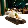 Pane burro e alici, : il primo appetizer di una cena di gran livello, da Yoji Tokuyoshi. La fotogallery è di Tanio Liotta
