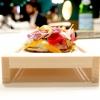 Piadina con burrata, riccio di mare e salsa di plancton