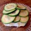 Semifreddo allo yogurt, feijoa ed essenza di mandorle verdi