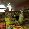 Fabio Barbaglini fa la spesa con l'assessore Franco D'Alfonso al mercato Morsenchio