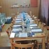 Quando la sostanza è tutto. Visto dove Nava e i suoi ospiti si trovavano, era impensabile una sala da pranzo da black tie.