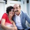 Sonia Gioia con Gerardo Leone dell'omonima agenzia che ha selezionato i vini per Il Pranzo Possibile