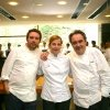 Loretta Fanella with Albert and Ferran Adrià