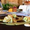 L'altra faccia del pizzocchero: Eugenio Boer ha ricreato la specialità valtellinese in tortelli di grano saraceno ripieni di bitto con fonduta di casera, crema di verza e patate