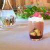 Finale del pasto a-tutto-bitto... senza bitto, con Cioccolato, yogurt e frutti rossi di Maurizio Santin