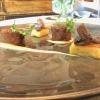 Agnello alla Villeroy, con patate, champignons, porcini, tartufo nero