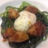 Uovo morbido, animelle e bietoline all'erba di San Pietro