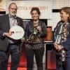 Marianna Vitale, cuoca dell'anno premiata da Cristina Ziliani di Berlucchi. Ha annunciato l'apertura di Angelina, cucina tradizionale evoluta, davanti al monastero di Santa Chiara