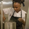 Victoire Goulubi, cuoca congolese da anni a Milano