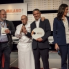 HeinzBeck, relatore nel pomeriggio, con il suo maitre Marco Reitano, premiato da Identità