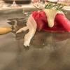Crudo di Marchigiana, finocchio marinato, salsa di arancia e maionese al pepe verde