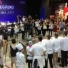 The twenty candidates competing in the S.Pellegrino Young Chef before the start
