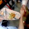 Tripe and foie gras, Paolo Griffa's dish