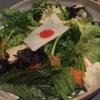 Insalata italo-giapponese con vinaigrette