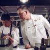 Alex Piras, responsabile di tutta la ristorazione di Eataly e Mark Ladner,Del Posto a New York