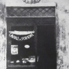 Una foto d'epoca dell'antica bottega di Nuta a Ferrara