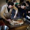 Luciano Pennisi e Giovanni Santoro, chef dello Shalai