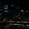 The skyline at night in Melbourne from the room at theLangham. The sun rose a couple of hours later