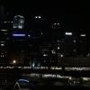 Lo skyline notturno di Melbourne dalla camera al Langham. Il sole sarebbe sorto un paio d'ore dopo