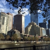 After three days looking at Melbourne from the south bank of the river Yarra, here's the south bank from the other side