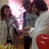 Matias Perdomo dispensa i suoi consigli al mercato Ticinese