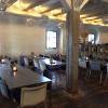 L'angolo del salone dove pranza e cena il personale