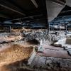 L'area archeologica sotto alla Nuvola (foto Andrea Guermani)