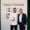 Alberto Basso, vincitore Voto del Pubblico al Premio Birra Moretti Grand Cru, con Alfredo Pratolongo, vicepresidente della Fondazione Birra Moretti