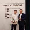 Giovanni Pellegrino, premiato per la migliore interpretazione della birra in abbinamento, conAlfredo Pratolongo