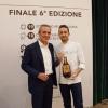 Marco Volpin, vincitore per la migliore interpretazione della birra in ricettazione, con Alfredo Pratolongo
