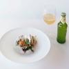 Il piatto vincitore del premio per la valorizzazione birra in abbinamento:Colazione Pugliese di Giovanni Pellegrino