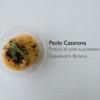 La Frittura di schie su polentina mediterranea di Paolo Casanova