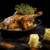 Il Pollo in due culture, peperoni e teriyaki è uno dei must di una cena da Apreda. Brillante la sua idea di riproporre il pollo, in genere snobbato dall'alta cucina, in maniera completamente diversa