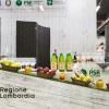 Regione Lombardia ha presentato i suoi prodotti agroalimentari di qualità, un'ampia rappresentanza che si colloca ai primi posti a livello nazionale: 34 prodotti Dop e Igp, 249 prodotti tradizionali di valenza storica, 41 vini tra Docg, Doc e Igt. Allo stand di Regione Lombardia si sono alternati produttori della Valtellina, del territorio comasco e dell'Oltrepò Pavese con degustazioni dei migliori prodotti e vini locali