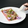 Carne cruda di razza Joshu Wagyu con acqua di Grana Padano e radice di Konjac di Andrea Ribaldone, chef de I Due Buoi di Alessandria