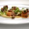 Ricciola candita, insalata di ceci, limoni e olive di Paolo Rota