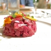 Tartare di Fassona all'Acqua Cotta di Porcini