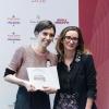 La migliore chef.Elisabetta Bracci, marketing manager premium brands di S.Pellegrino premiaMarta Scalabrini,Marta in Cucina - Reggio Emilia