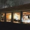 Visione notturna della sala del ristorante(foto Instagram/James Spreadbury)