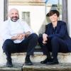 Niko e Cristana Romito, fratello e sorella, responsabili di cucina e sala del ristorante Reale Casadonna a Castel di Sangro (L'Aquila), 3 stelle Michelin