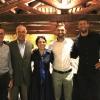 La serata di presentazione a La Montecchia: Maule, Gravner, Michelon, Hopkins e Piccinin