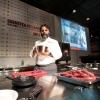 Per Marco Stabile, nella foto, una lezione con Sergio Capaldo tutta incentrata sulla carne