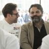 Marco Stabile, Ora d'Aria, Firenze (nella foto, a destra) (Italian & international best chefs, 13-17 maggio)  «Vorrei che fosse la tavola ideale dei potenti che aggiusteranno il mondo: la gastronomia sarà il nuovo verbo