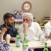 """C'è stata un'importante tavola rotonda a margine delle lezioni di Identità New York. L'ha organizzata S.Pellegrino e titolava """"Talent and the mentorship, a mutual opportunity"""". Nella foto, Carlo Cracco e Davide Scabin"""