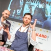 """Giulio Terrinoniof Per Mein Rome, closing the series, is daring enough as to use some seafood """"offal"""""""