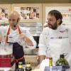 Marc Vetri, chef italo-americano molto popolare a Philadelphia con Vetri Ristorante e altre insegne e Ugo Alciati di Guido a Serralunga d'Alba (Cuneo), autori di una lezione sul tema del latte