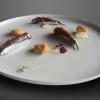 Alici di Cetara affumicate, caviale di colatura, gelèe alla Birra Moretti e meringa di pane croccante, Alberto Francesco Wengert