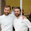Da sinistra:Federico La Paglia, chef del ristoranteSikèlaiadi Milano, eFederico Sisti, chef dell'Antica Osteria Il Ronchettino, sempre di Milano